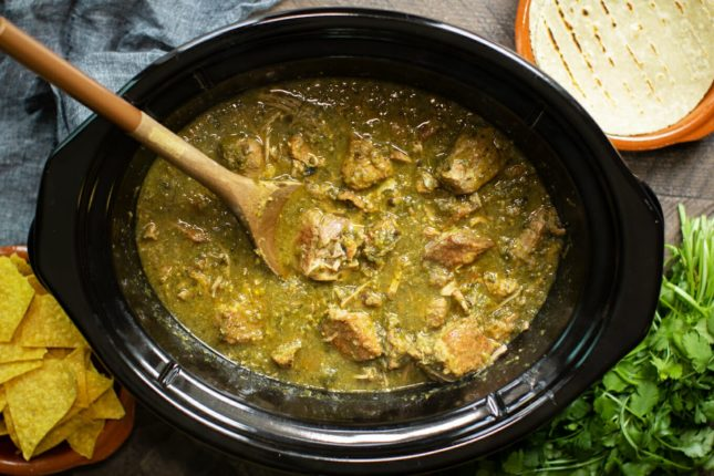 Slow Cooker Chile Verde