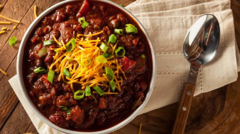 30 Minute Low Carb Beef Chili
