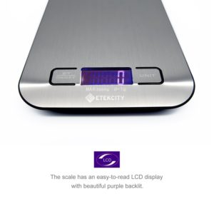 Using A Cooking Scale