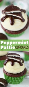 Easy Peppermint Pattie Cupcakes – Your Cup of Cake