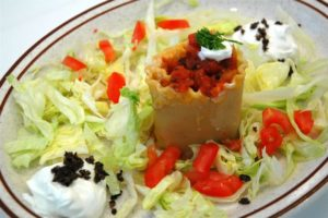 How to Make a Mexican Chef Salad