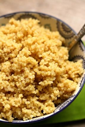 Instant Pot Quinoa--quinoa is so easy to make in your electric pressure cooker! It takes just a few minutes to cook and there