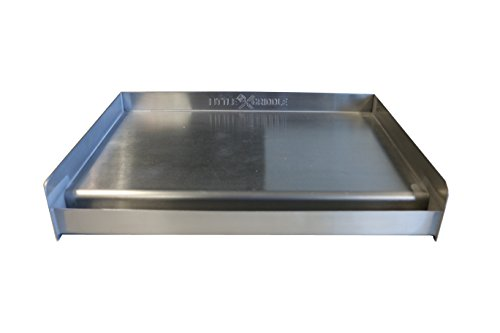 Little Griddle SQ180 Universal Griddle for BBQ Gri...