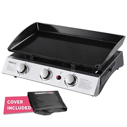 Royal Gourmet PD1300 Portable 3-Burner Propane Gas...