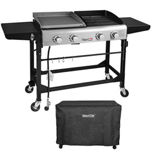 Royal Gourmet Portable Propane Gas Grill and Gridd…