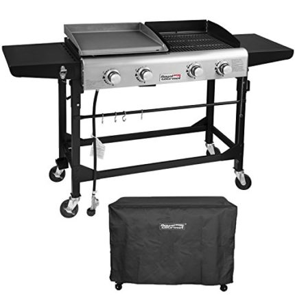 Royal Gourmet Portable Propane Gas Grill and Gridd...