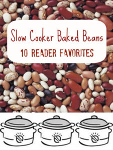 Slow Cooker Baked Bean Round-Up