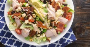 Southwestern Turkey BLTA Salad – Slender Kitchen