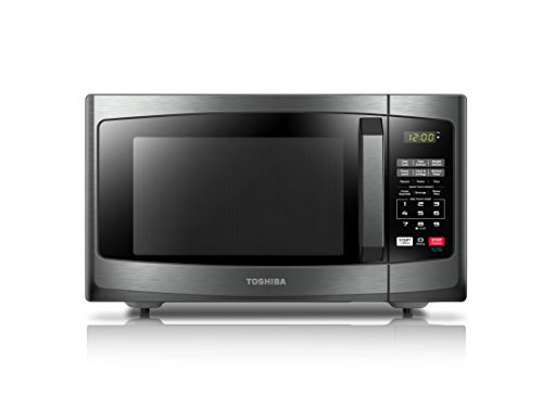 Toshiba EM925A5A-BS Microwave Oven with Sound on/O...