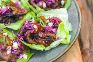 Grilled Barbecue Beef Lettuce Wraps Recipe :: The …