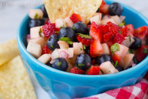 4th of July Fruit Salsa