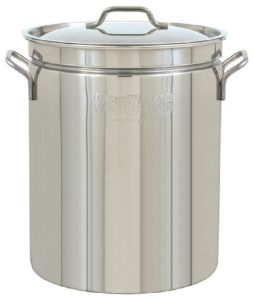 Bayou Classic  1036 Stainless Steel Stockpot, 36 Q…