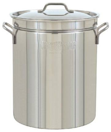 Bayou Classic  1036 Stainless Steel Stockpot, 36 Q...