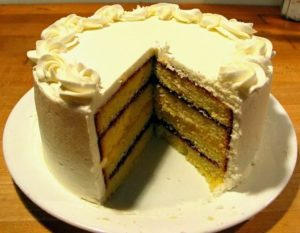 Best of the Best Italian Cream Cake