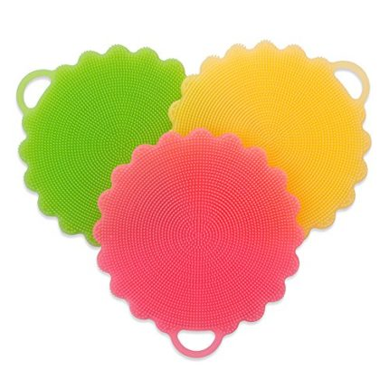 DUERGER Silicone Sponges, Multipurpose Food-Grade ...