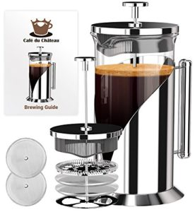 French Press Coffee Maker (8 cup, 34 oz) With 4 Level Filtration Syste…
