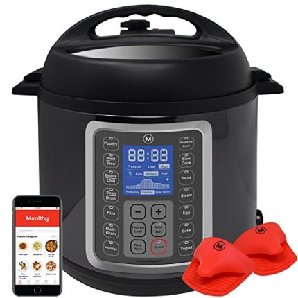 Mealthy MultiPot 9-in-1 Programmable Pressure Cook...