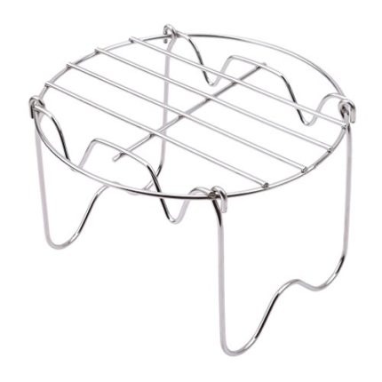 Meolin Steamer Rack Stainless Steel Trivet with Ha...