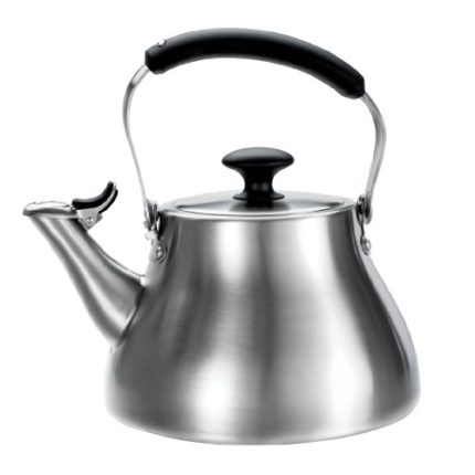OXO Good Grips Classic Tea Kettle, Brushed Stainle...