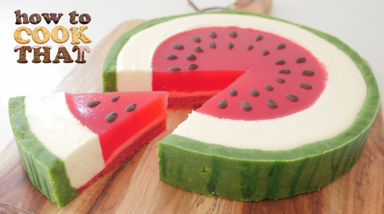 SUMMER WATERMELON DESSERT How To Cook That Ann Rea...