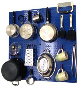 Wall Control Kitchen Pegboard Storage Organizer Ki…