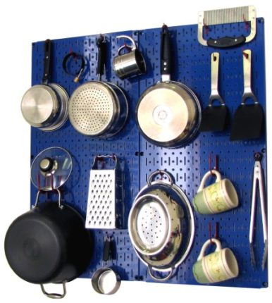 Wall Control Kitchen Pegboard Storage Organizer Ki...