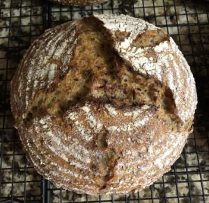5 Grain Levain with Bulgur