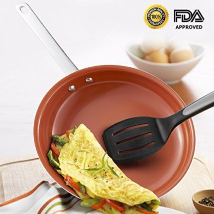 Hommate 9 Inch Nonstick Frying Pan ,Omelette Pan, ...