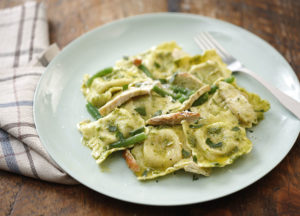 Italian Veal and Spinach Ravioli – Recipe