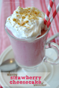 Skinny Strawberry Cheesecake Smoothie – Your Cup o…
