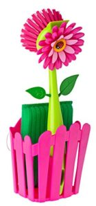Vigar Flower Power Pink Sink Side Set With Suction…