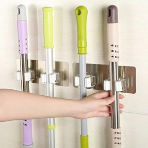 ZTTONE Mop Holder,1 PC Random Color Wall Mounted M…