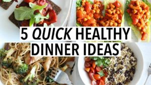 5 Quick and Easy Dinner Recipes