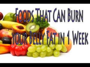 How to Lose Belly Fat Via the Fruits and Vegetables Diet