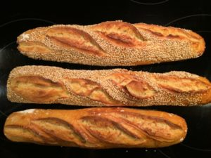 Tritordeum Baguettes   The Fresh Loaf