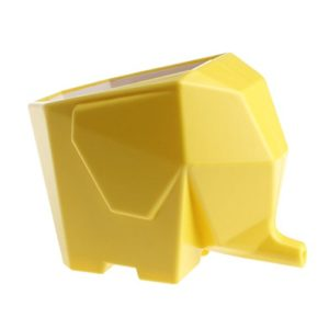 Cute Elephant Plastic Cutlery Drainer Storage Holder Box for Home Kitc…