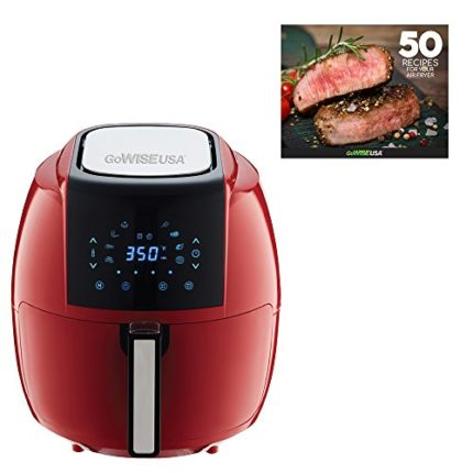 GoWISE USA 5.8-Quart Programmable 8-in-1 Air Fryer...