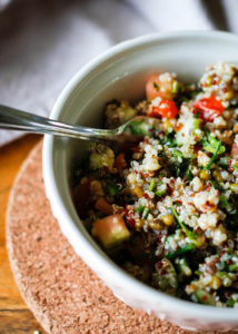 Linseed & Quinoa Salad Recipe