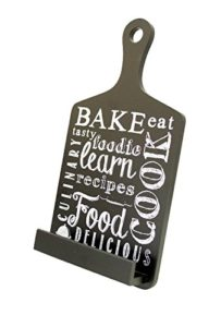Tablet Holder and Cookbook Stand, Bake Design, By Boston Warehouse