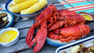 Cooking a Maine Lobster