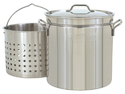 Bayou Classic 1124 24-Quart All Purpose Stainless ...