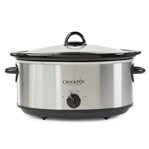 Crock-Pot SCV700SS Stainless Steel 7-Quart Oval Manual Slow Cooker, 7 …