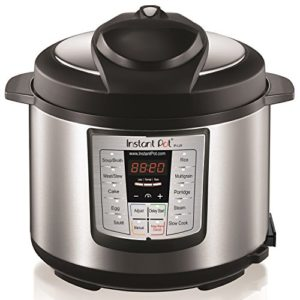 Instant Pot LUX60V3 V3 6 Qt 6-in-1 Multi-Use Programmable Pressure Coo…