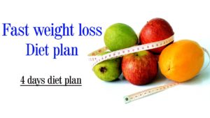 How to Lose Weight Fast on a Diet