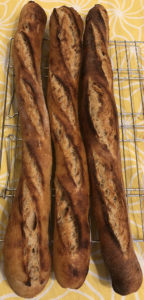 Very first baguettes   The Fresh Loaf