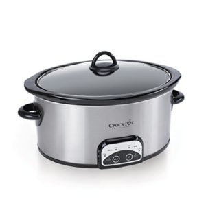 Crock-Pot SCCPVP600-S Smart-Pot 6-Quart Slow Cooker, Brushed Stainless…