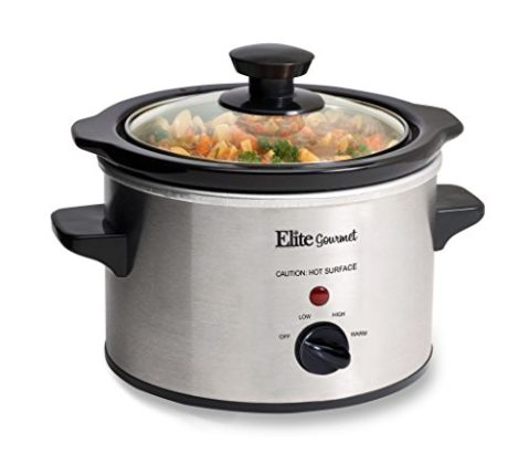 Elite Gourmet MST-250XS Slow Cooker, Temperature Control, Perfect for ...