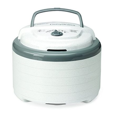 Nesco FD-75A Snackmaster Pro Food Dehydrator, Whit...