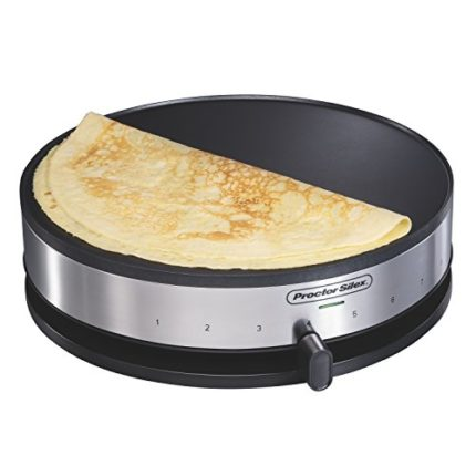 Proctor Silex 38400 Electric Crepe Maker, 13 Inch ...