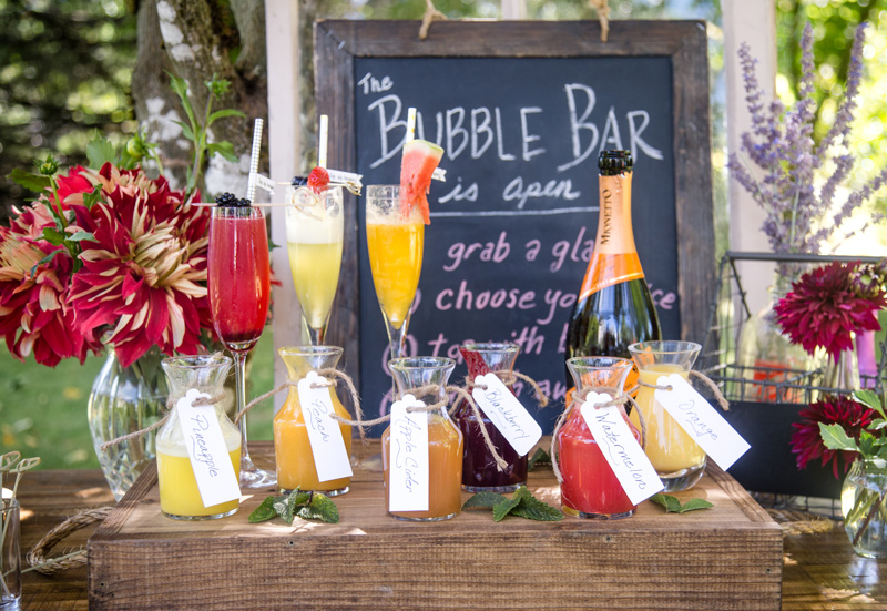 How to build a Mimosa Bar